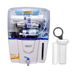 Aqua Ultra Premier RO+11W UV(OSRAM, Made In Italy) +B12+TDS Controller Water Purifier